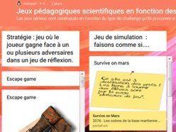 Une sélection de jeux scientifiques à découvrir