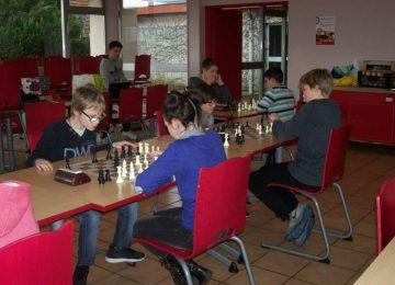 AS : 3ème dans leur poule aux championnats académiques d'échecs