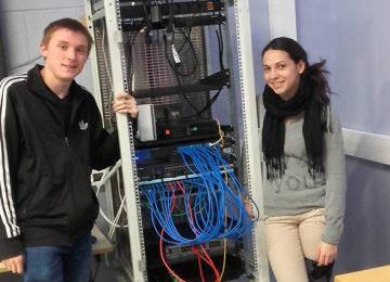 Réorganisation d'une baie informatique (Tle Bac Pro SEN)