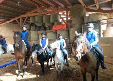 l'AS à St Jo : Equitation et Tennis de table
