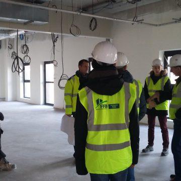 Les élèves de Tle MELEC visitent l'entreprise COTEB-CODIEL