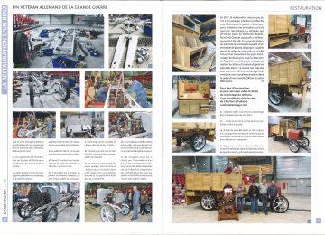 La restauration d'une Benz (Charge utile magazine n°327 – Mai 2020)