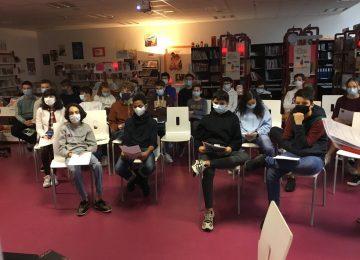 Les Petites Fugues 2020 : rencontre virtuelle des 3B avec l'auteur Grégoire Courtois