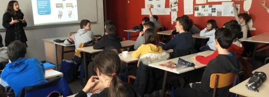 Ateliers sur l'identité numérique pour les 5èmes