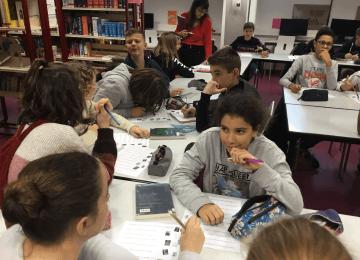 Les Incos de St Jo pour les classes de 5ème