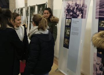 Les 3èmes visitent l'exposition Anne Frank