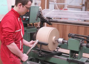 Fabrication d'une caisse claire (Arthur Ronot)