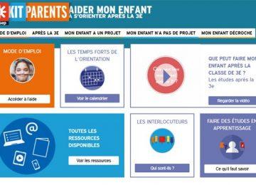 BDI Kit Parents : aider mon enfant à s'orienter après la 3ème