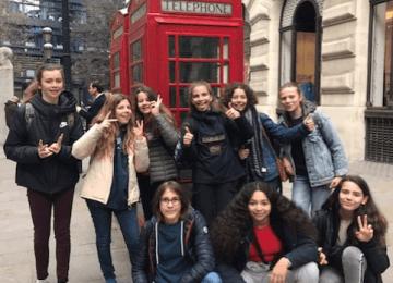 les 5èmes à Londres : l'échange East Croydon