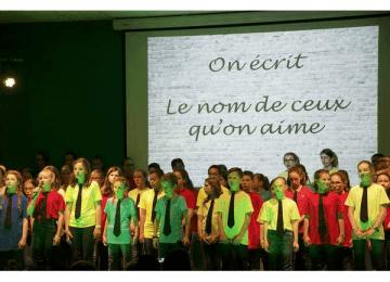 Chorale : Sous le feu des projecteurs !