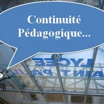 Continuité pédagogique