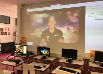 E.S.T. les 6E à la rencontre d'un astronaute de l'ISS ? c'est possible !