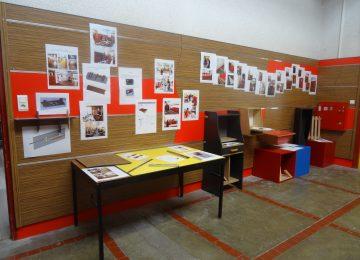 Aménagement de l'entrée de l'atelier de menuiserie par les élèves de Tle TMA