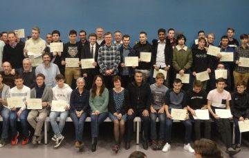 Cérémonie de remise des diplômes obtenus en 2018
