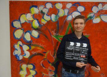 Erwan Coublanc, ancien élève de Tle MELEC, prépare le BTS FED en alternance