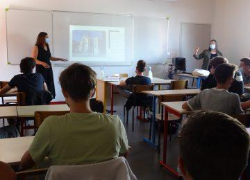 «Une saison en partage» : présentation par le CDN aux élèves de CAP FMMA, CAP Electricien, 2de MAMA et 1ère TMA