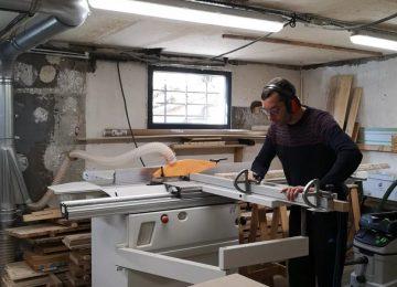 Sami Dubosc exerce depuis 2016 sa passion dans sa propre entreprise à Deluz dans le Grand Besançon