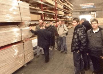 Les élèves de 1ère CAP FMMA visitent les entreprises Barillet et Monnier