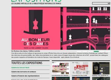 Des expositions virtuelles…