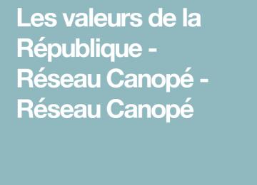 Ressources EMC : les valeurs de la République