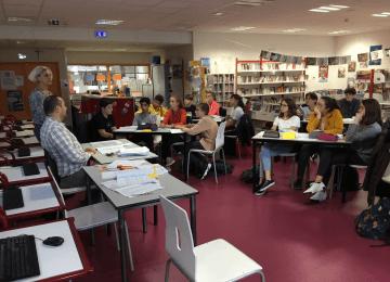Formation des délégués de classes et suppléants mardi 15 octobre