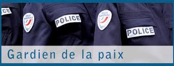 Devenez policier : concours «Gardien de la paix»