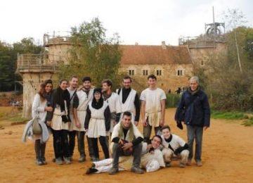 Les Tles BMA en stage au château de Guédelon