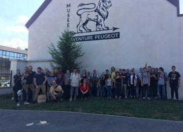 Visite du musée Peugeot à Sochaux