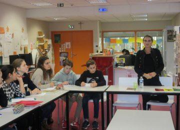 Les 4D rencontrent Laurence Gaud, auteure-jeunesse…
