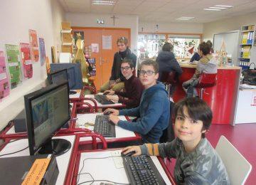 Français 4° : écouter des nouvelles en ligne