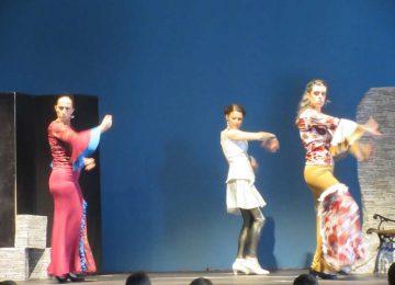 Spectacle de flamenco par la compagnie Duende Flamenco