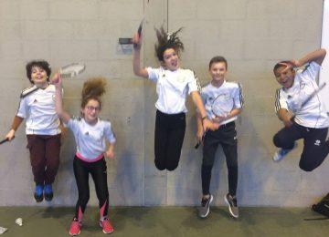 AS : compétition de badminton à Valdahon