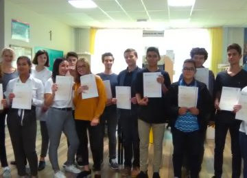 REMISE DIPLOMES CERTIFICATION LANGUE ANGLAISE