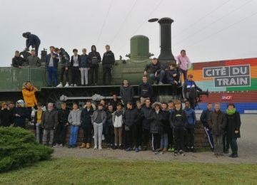 Les élèves de CAP Electricien, de 2de Bac Pro MELEC, de 1ère Bac Pro MELEC et de 2de Bac Pro SN se rendent à la Cité du Train et au Musée Electropolis à Mulhouse