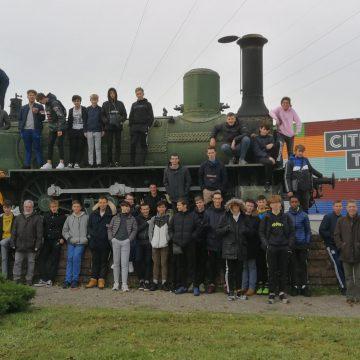 Les élèves de CAP ELEC, de 2de, de 1ère Bac Pro MELEC et SN à la Cité du Train et au Musée Electropolis à Mulhouse