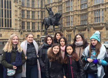 5ème : Echange St Jo – CHS Croydon High School