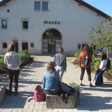 Stage collectif BMA ébénistes au Musée des maisons comtoises à Nancray