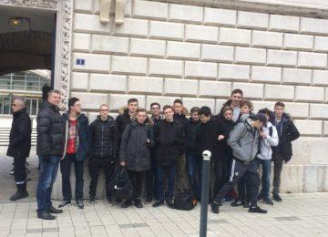 Sortie très attendue par les élèves de 1ère Bac Pro SN et MELEC || au Tribunal de Grande Instance à Besançon