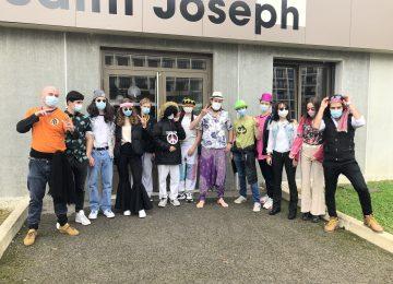 Les lycéens fêtent Carnaval…