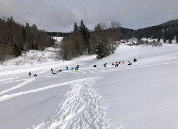 Ski nordique aux Longevilles-Mont d'Or