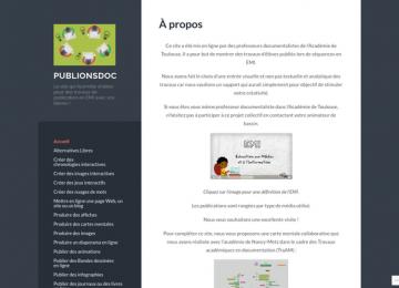 Des exemples de travaux d'élèves publiés en ligne