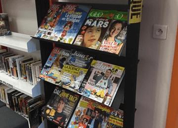 Presse : les abonnements au CDI St Jo