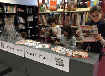 2019 : 30ème semaine de la Presse à l'école