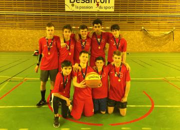 A.S. Basket : On est les champions !