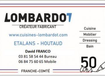L'entreprise LOMBARDOT recherche un menuisier/une menuisière en agencement (Etalans)