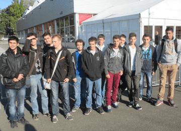 Les élèves de Tle SEN à Micronora