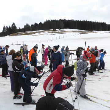 Sortie ski nordique pour les élèves de CE2 et CM1