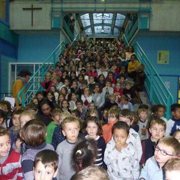 Chants à l'école et Marché de Noël