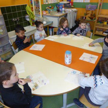 Des crêpes en maternelle