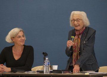 29 novembre 2018 : les 3èmes rencontrent Mme Teyssier ancienne Déportée